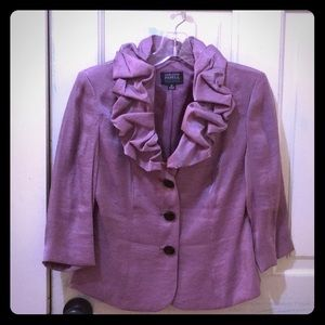 Mauve Evening Jacket